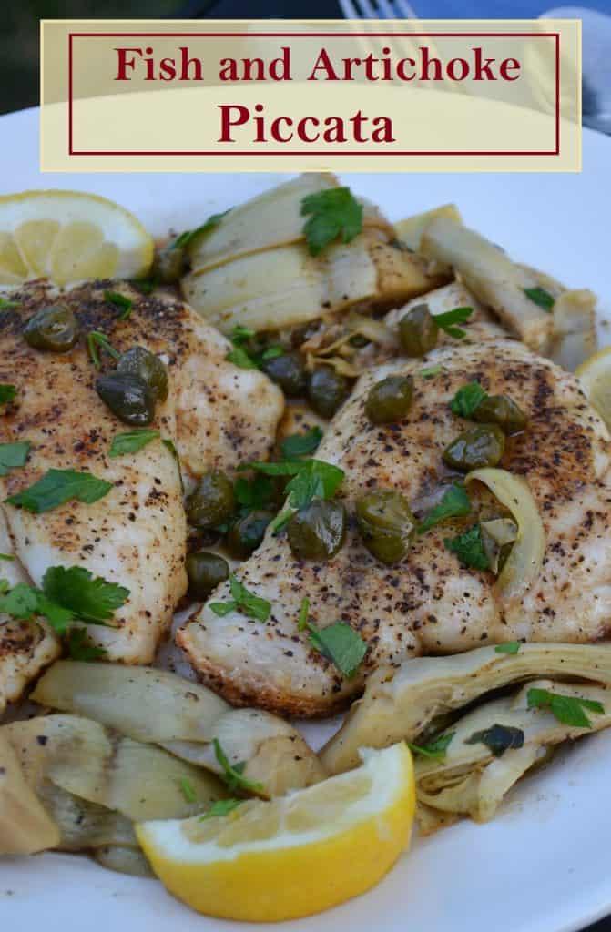 pinterest photo for fish piccata