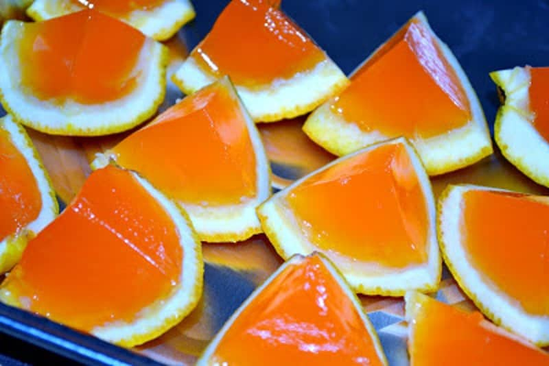 Orange Creamsicle Jello Shots are perfect for your next party. They can be made right in the orange peels.
