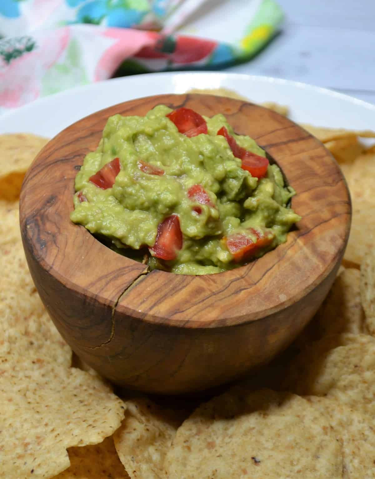 This Guacamole is an easy appetizer to make!
