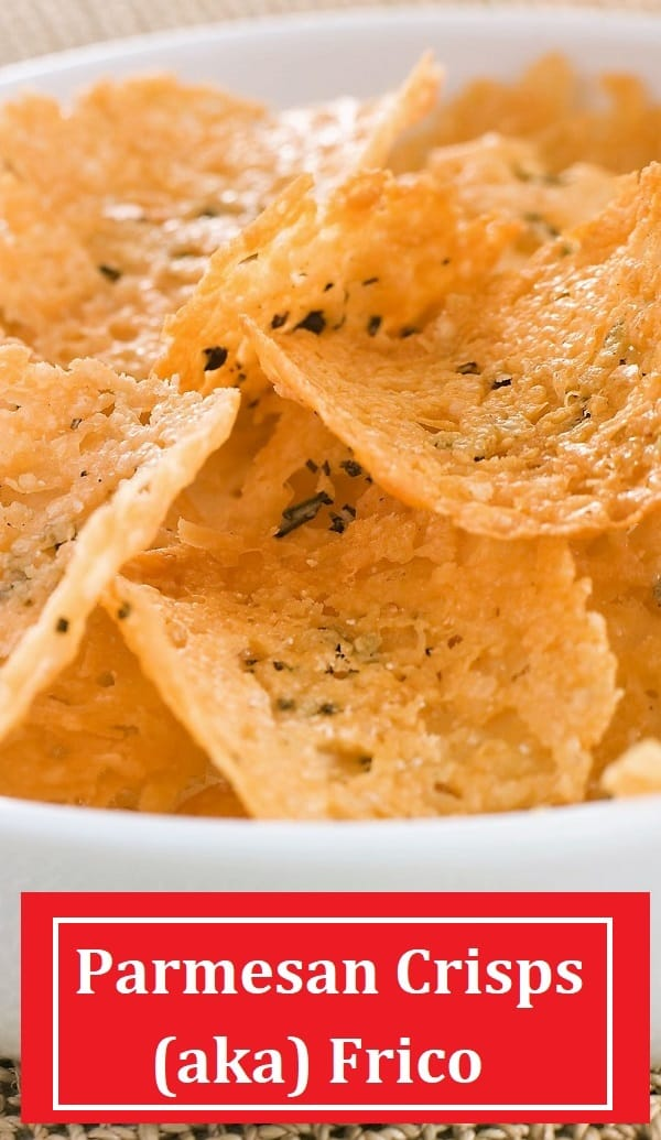 Parmesan crisps or frico