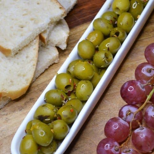 Homemade Marinated Olives Recipe