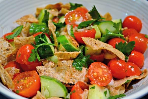 Middle Eastern Bread Salad