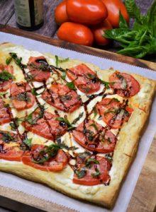 Ricotta Tomato Tart