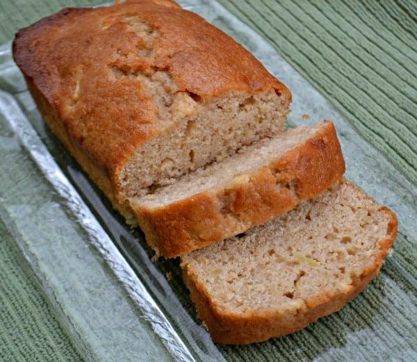 Apple Pecan Loaf Cake Recipe