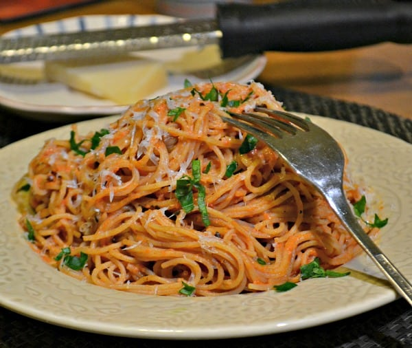 Angel Hair Pasta With Blush Sauce Jersey Girl Cooks