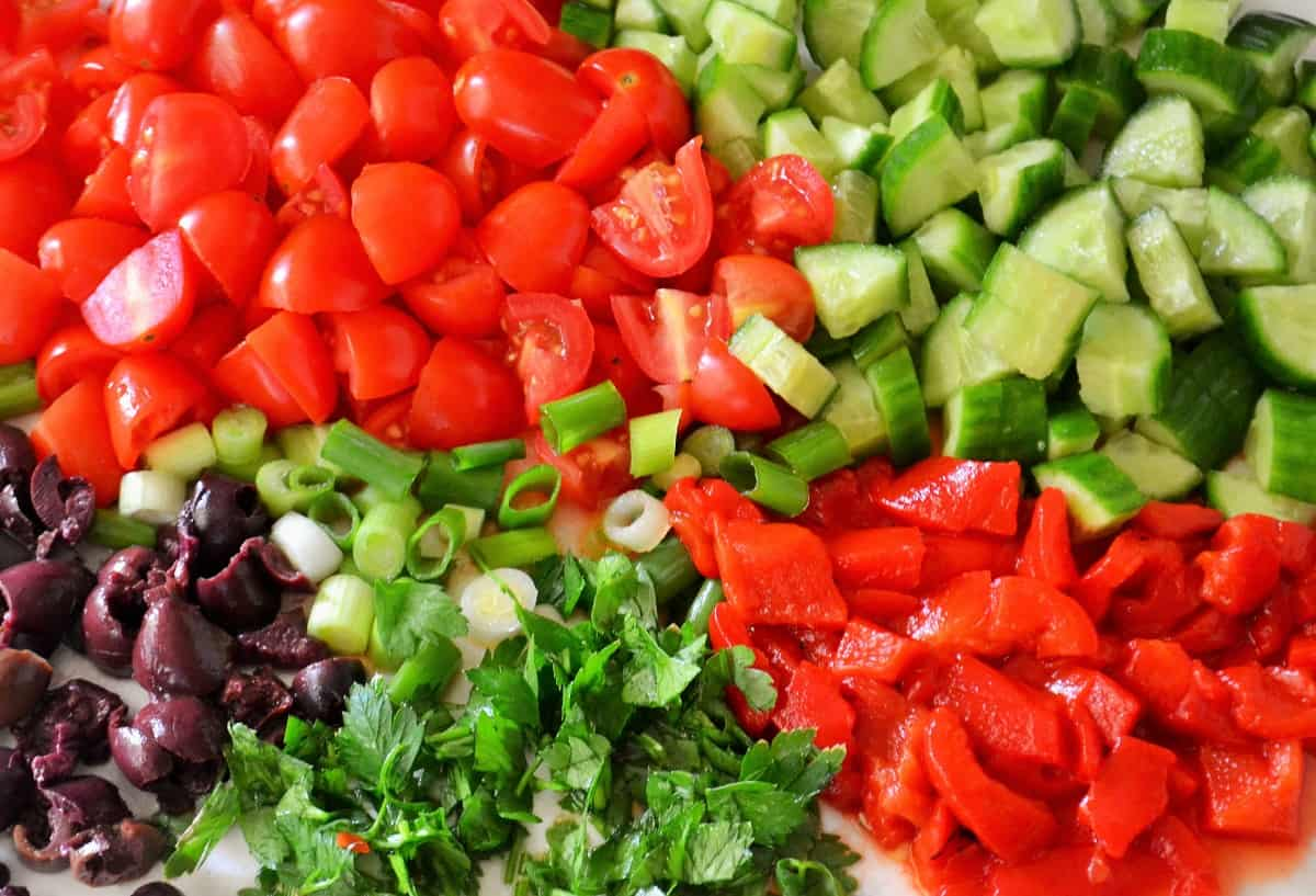 Healthy side dish ingredients