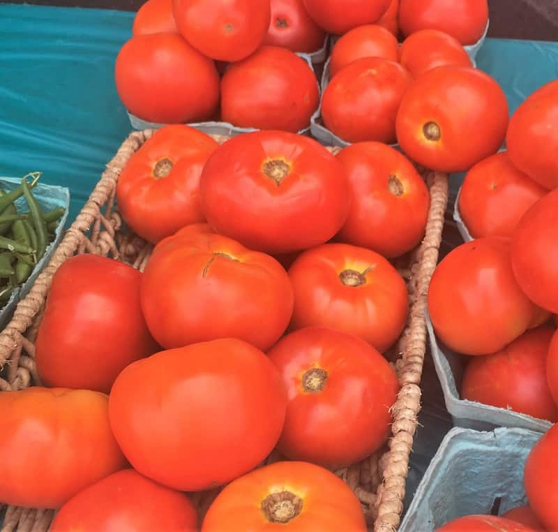 tomatoes for a healthy side dish