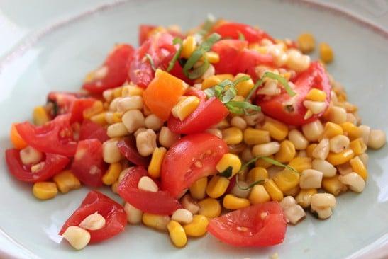 corn tomato