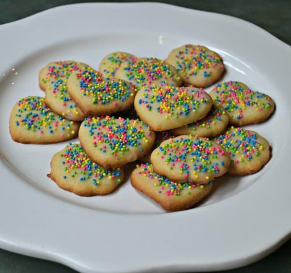 plate cookies