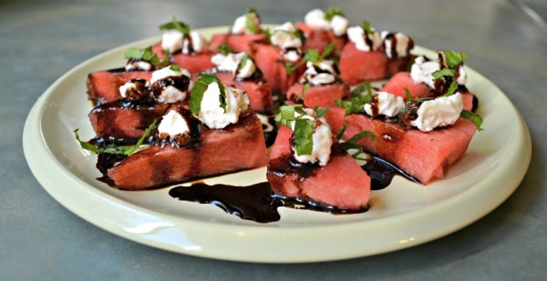 balsamic watermelon feta