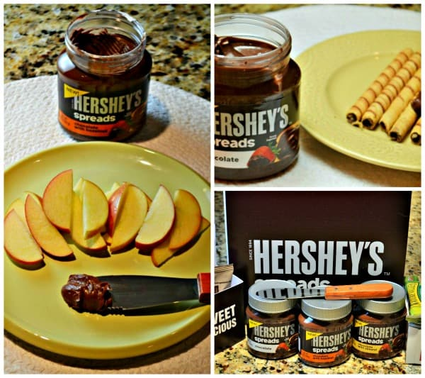 Hershey spreads collage