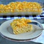 mac and cheese outside