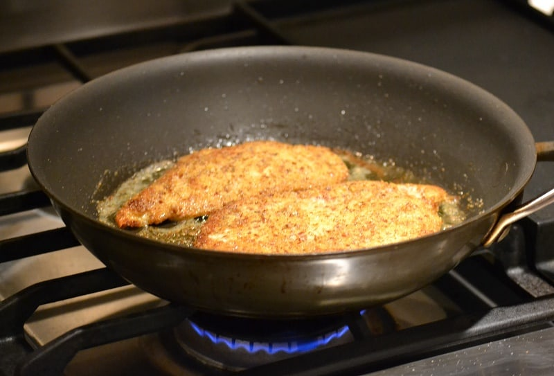 Pan Fried Chicken cutlets