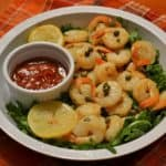 Preserved Lemon and Caper Shrimp