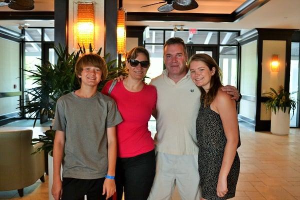 family Hawks Cay