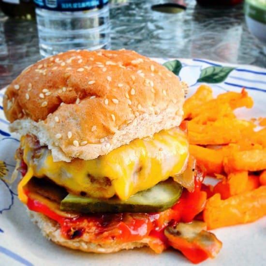 a big fat cheeseburger