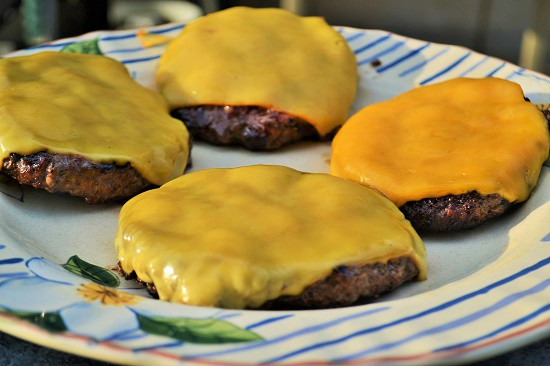 perfect grilled cheeseburgers