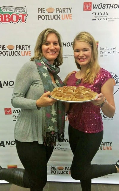 Me and Nicole at pie party
