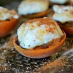 apricots with ricotta,honey and cinnamon