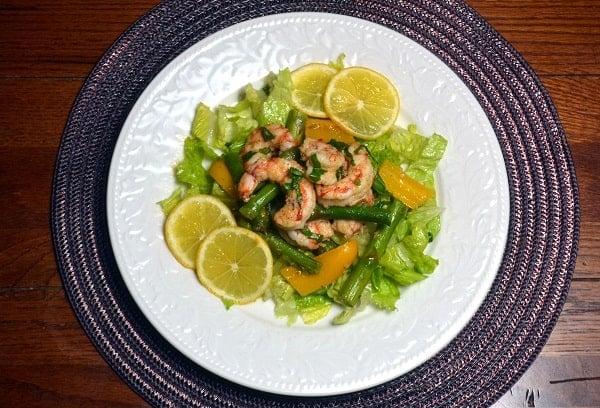 Roasted Shrimp and Asparagus Salad with Lemon Vinaigrette ...