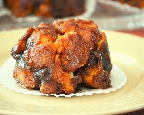 Pumpkin Monkey Bread Muffin