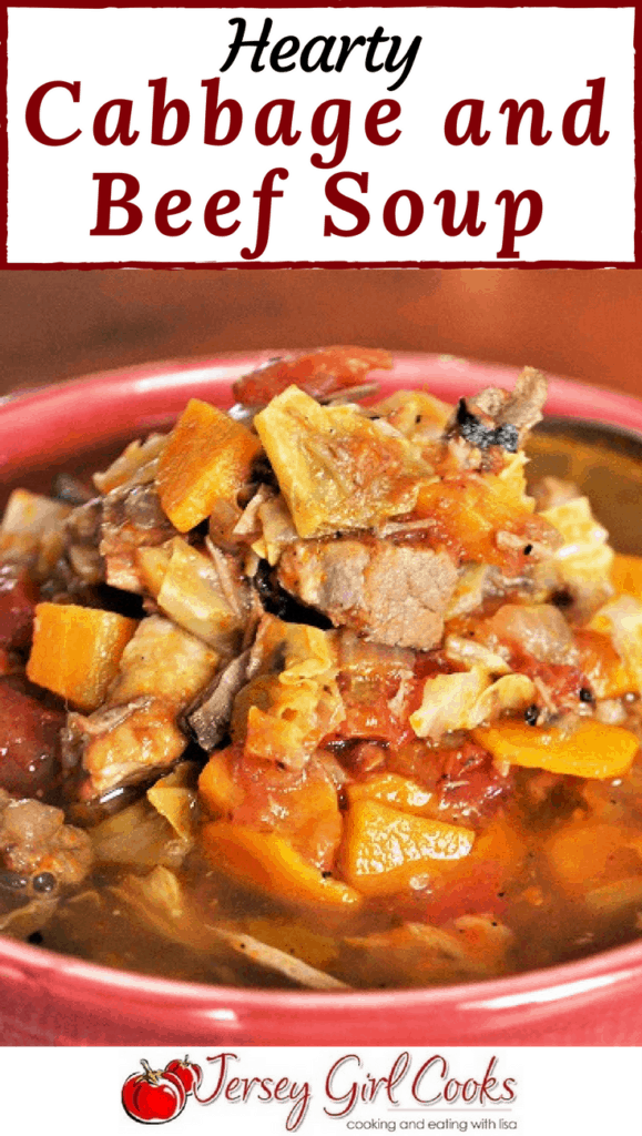 Hearty Cabbage and Beef Soup