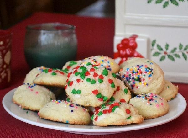 Christmas Sugar Cookie Drops