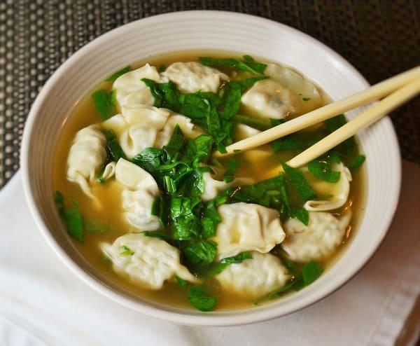 Ten Minute Wonton Soup