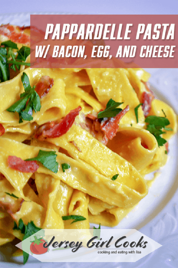 This Pappardelle Pasta dish is a rich, comfort food dinner!