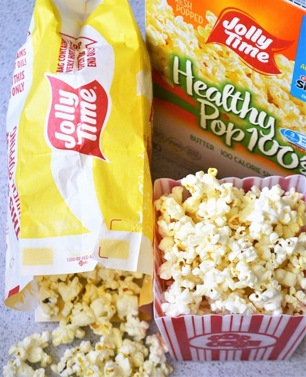 Jolly Time popcorn is a great low calorie Weight Watchers snack