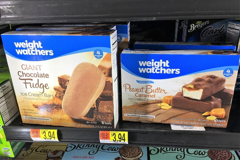 frozen Weight Watchers treats
