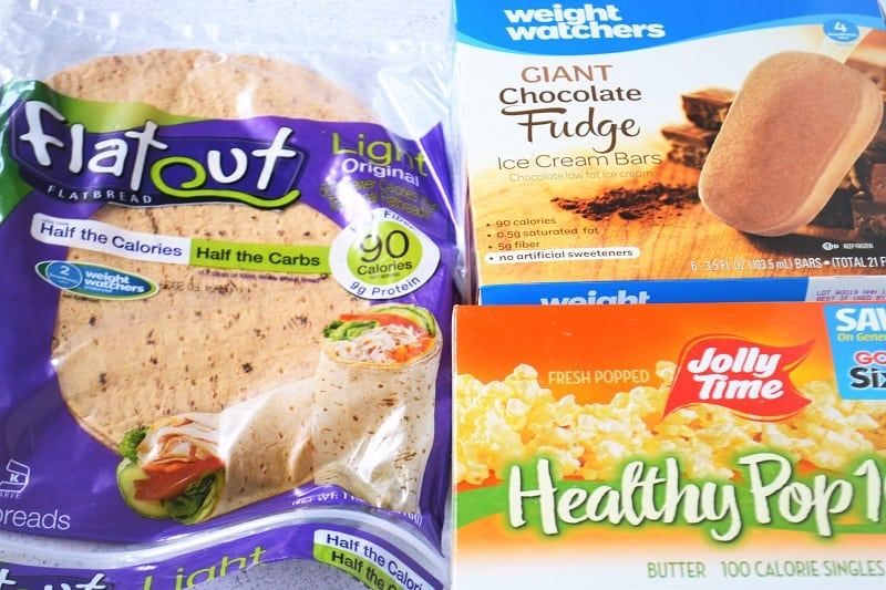 Some of my favorite Weight Watchers products