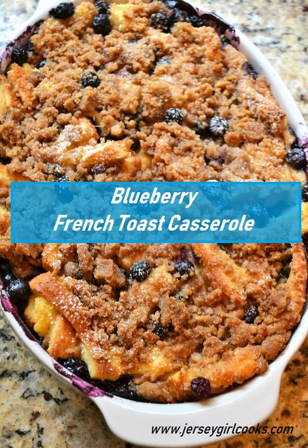 Blueberry French Toast casserole pin