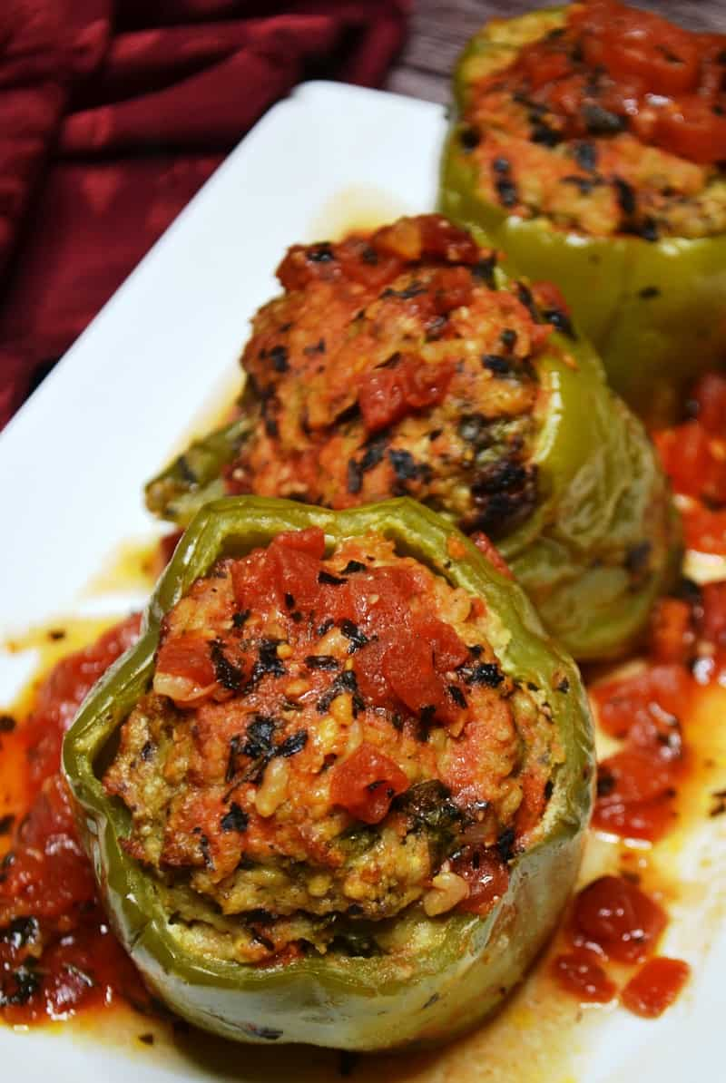 3 stove top stuffed peppers