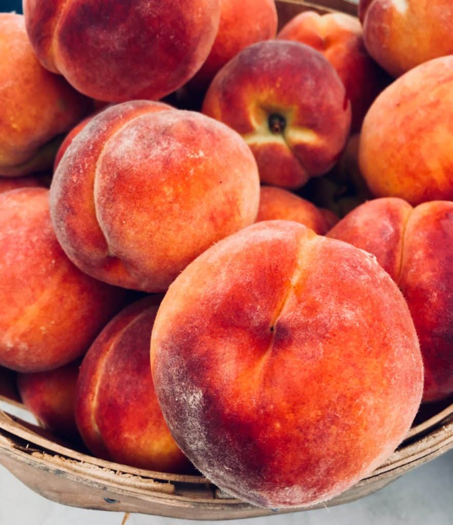 local Nj peaches