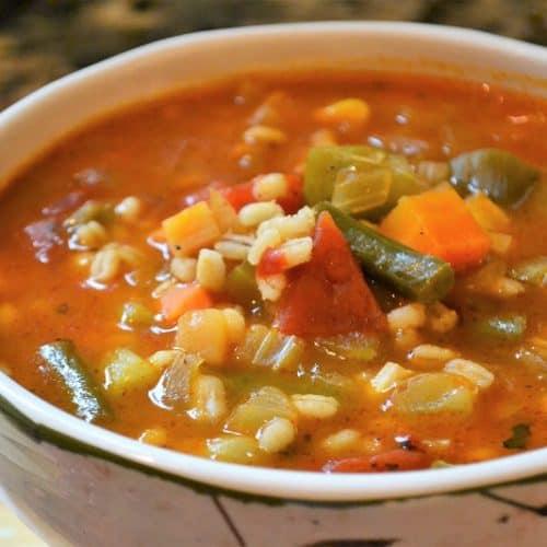 Barley Vegetable Soupl