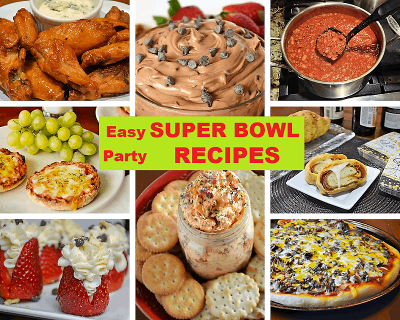 Super Bowl Party Food and Game Day Food Recipes