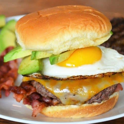 Best Brunch Burger Recipe