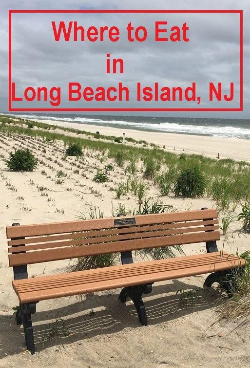 Where to eat on long Beach Island