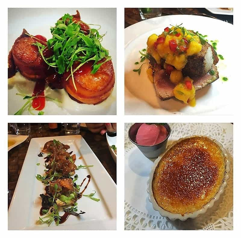 Delicious dishes from plantation on Long Beach island
