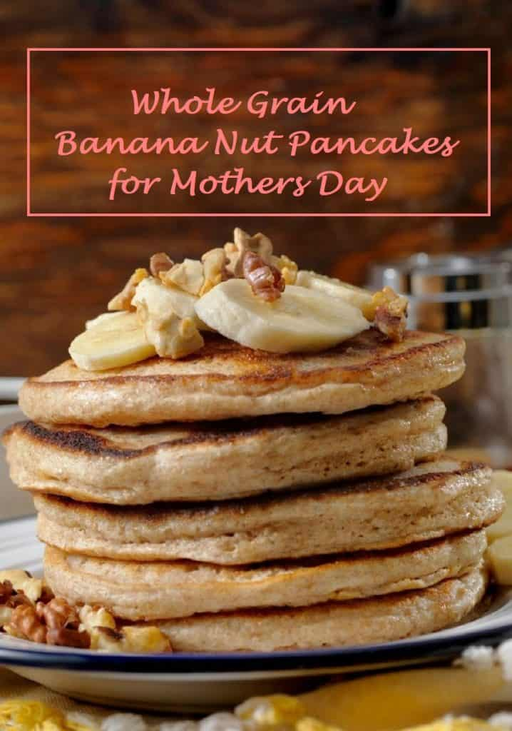 These pancakes are perfect for mother's day brunch!