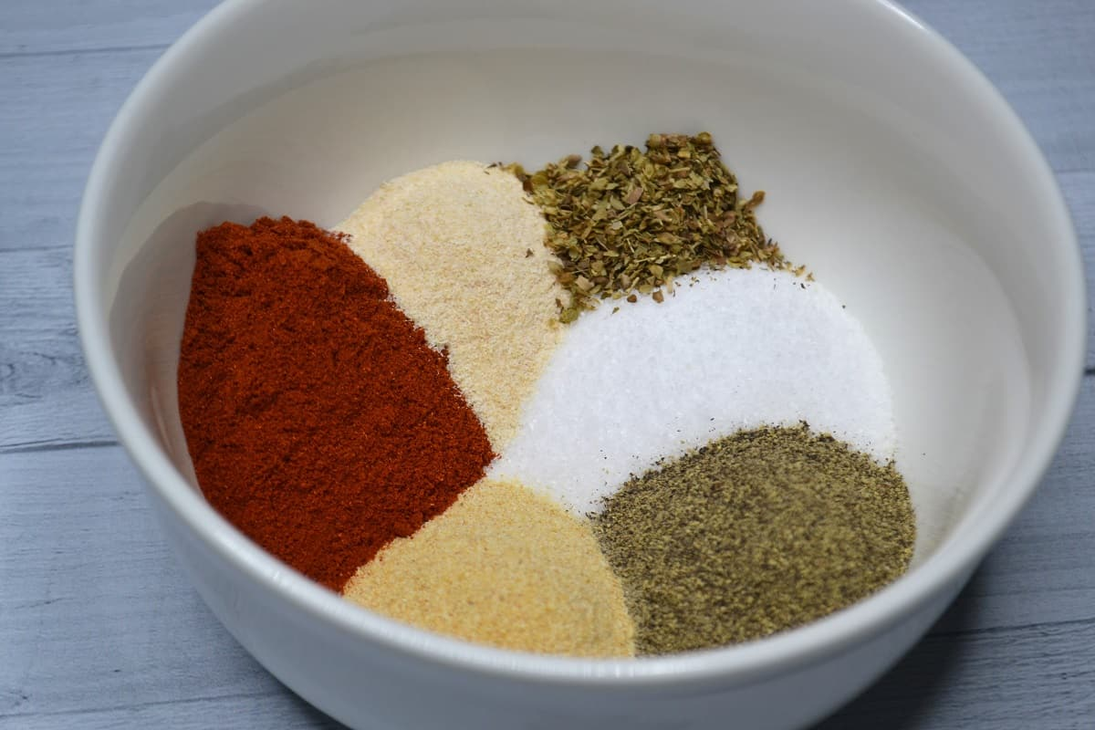 spices in beef seasoning