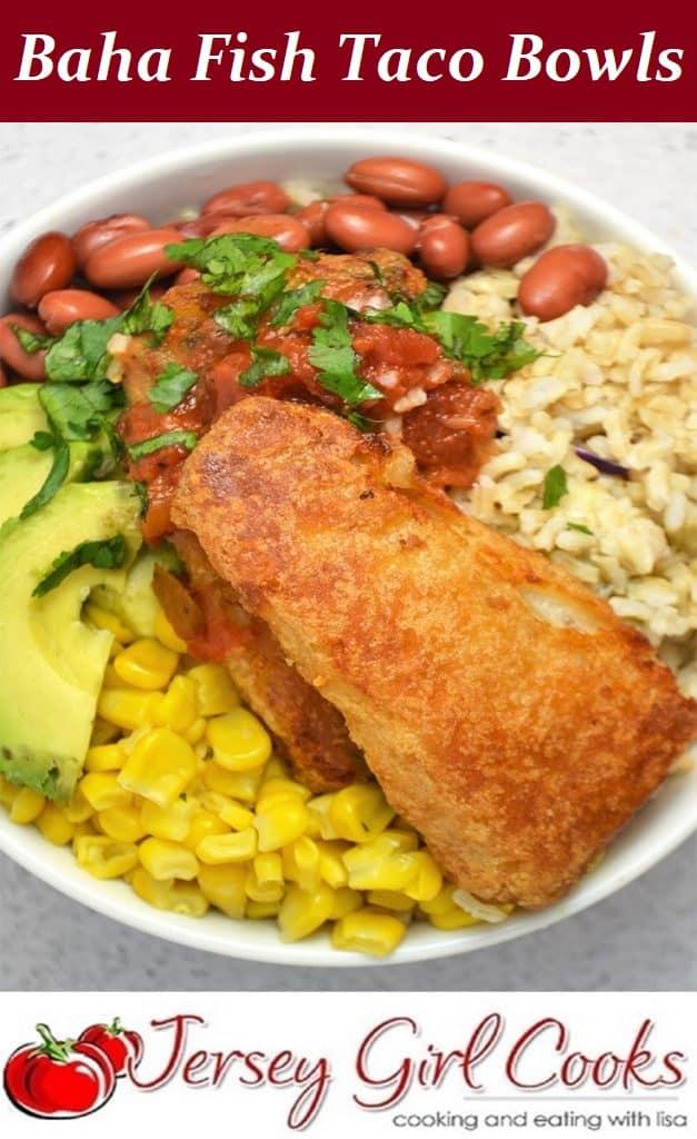 Pin for Baha Fish Taco Bowl